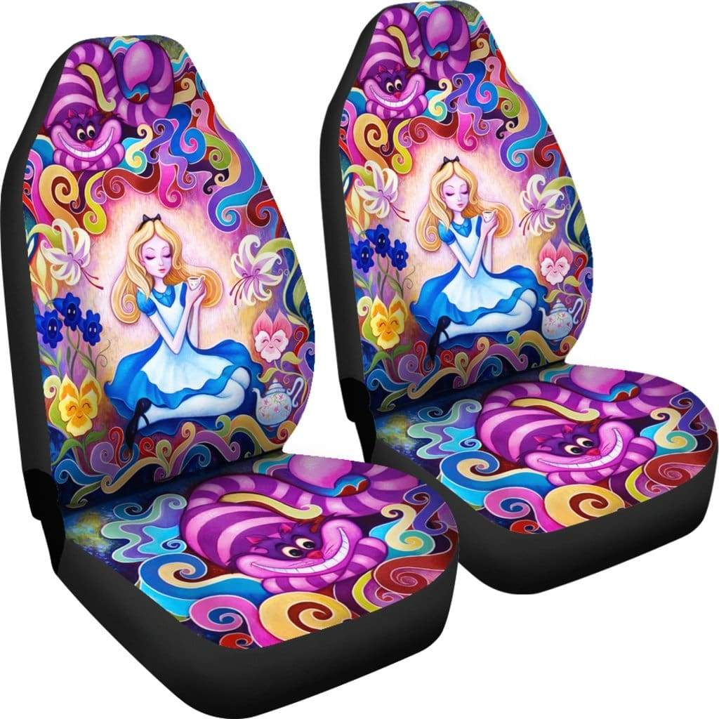 Alice In Wonderland Car Seat Covers Gearclover